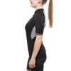X-Bionic The Trick Biking Shirt SS Full Zip Women Black/White